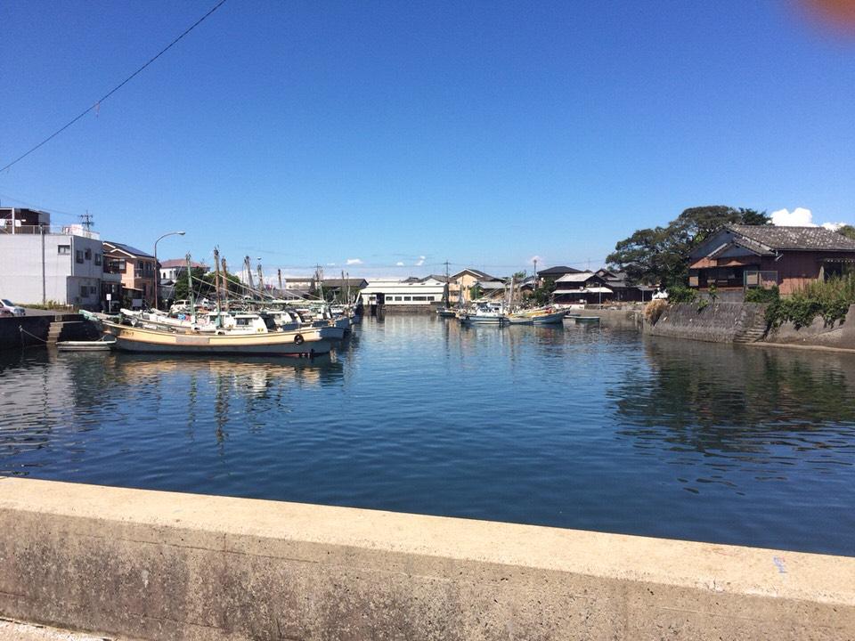 ▲こんな漁港ぽい雰囲気もいいね