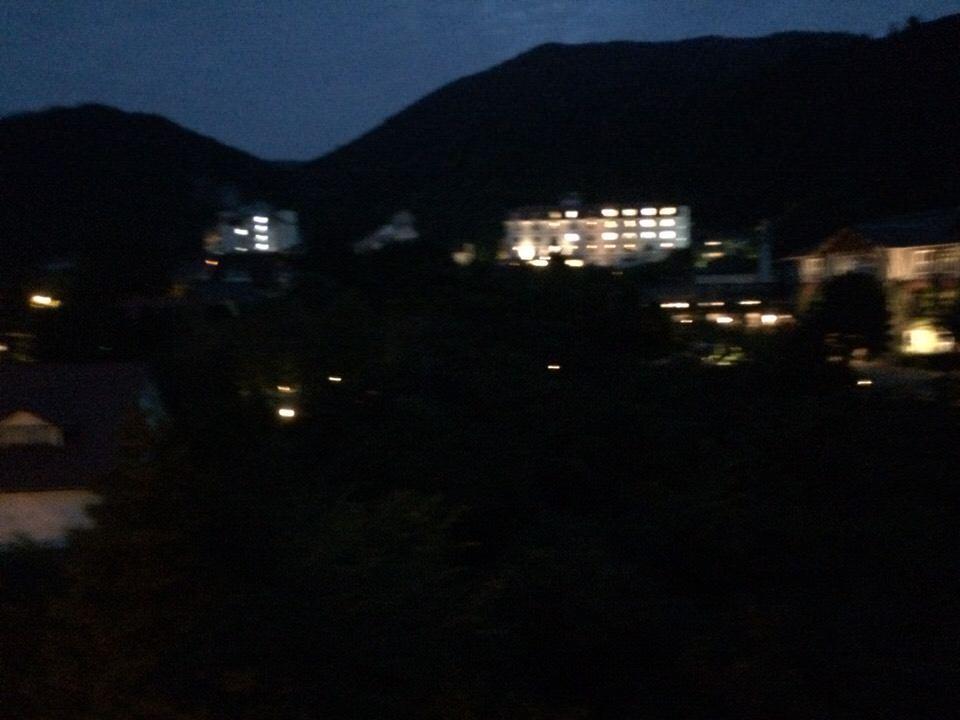 ▲夜なんで景色ないw